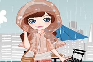 雷雨天俏皮装