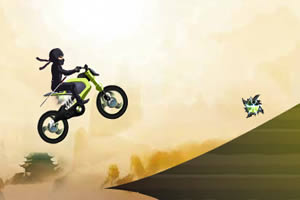 忍者骑摩托