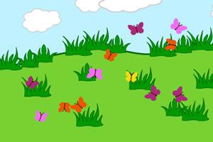 趣味抓蝴蝶