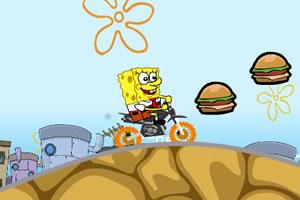 海绵宝宝汉堡摩托车