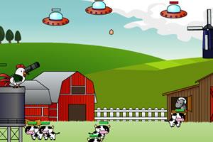 小鸡炮轰UFO