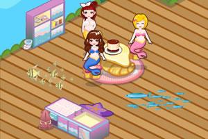 小美人鱼的美丽房间