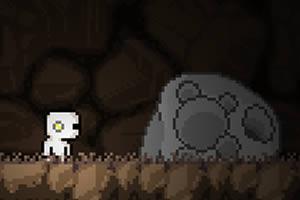 小白人勇闯山洞