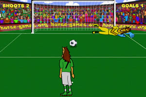小马踢足球
