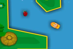 小猴子划船