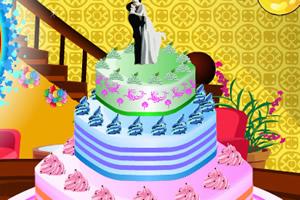 制作好看的婚礼蛋糕