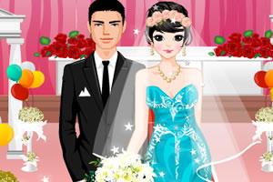时尚婚礼装扮