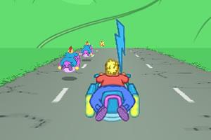 太空飞船竞速赛修改版