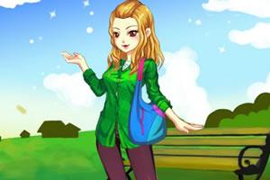 秋季女孩装扮
