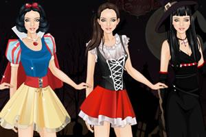 童话女孩装扮