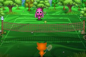 托托思思打网球