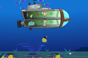 潜水艇堵住漏洞