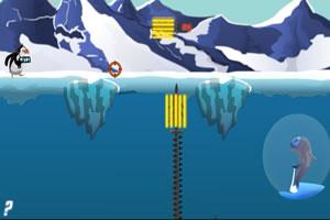疯狂企鹅救南极