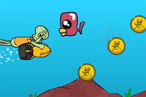 章鱼哥找金币