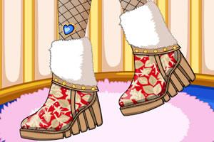 冬季靴子设计