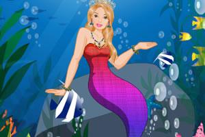 可爱芭比美人鱼