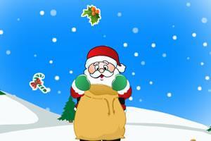 圣诞老爷爷接礼物