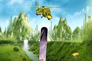直升机森林救援