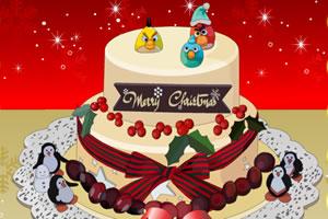 圣诞蛋糕装饰