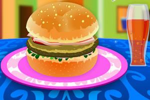 学做美味汉堡