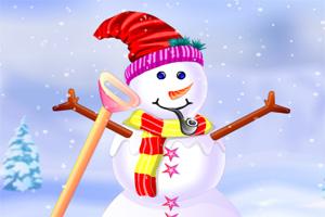 雪人的新装