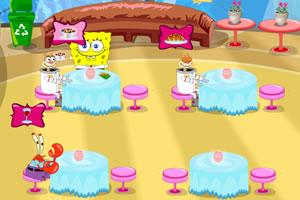 海绵宝宝海底餐厅