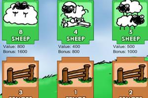 栅栏与小羊