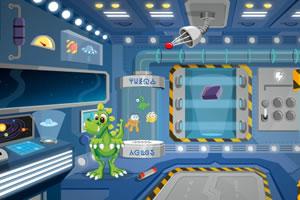 小恐龙飞船逃生