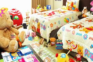 多彩的孩子房间