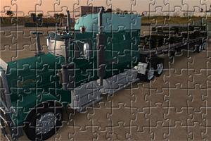 超级大卡车拼图