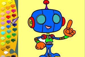 彩色机器人