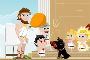 希腊人与小孩
