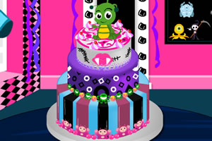 怪物高校蛋糕制作