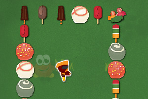 机器人与糖果