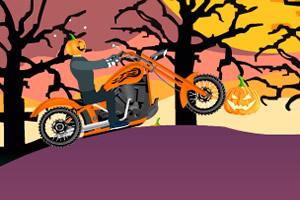 南瓜头骑摩托