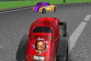 3D古董车追逐赛