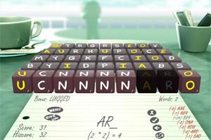 3D字母拼写