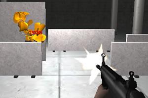 警队射击训练