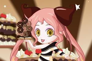 巧克力女生