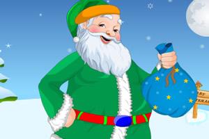 和蔼的圣诞老人