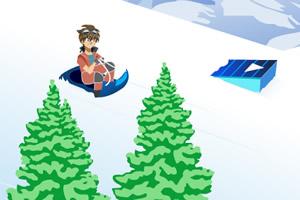 爆丸小子滑雪