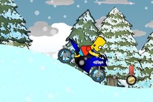 辛普森雪地骑摩托