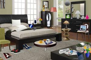现代卧室找东西