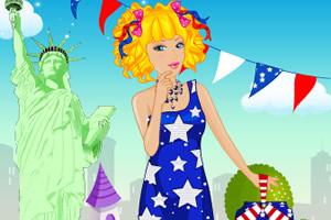 芭比美国盛装