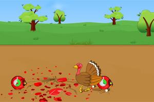 火鸡躲炸弹