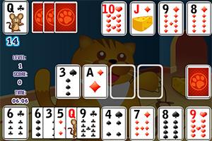猫和老鼠玩纸牌