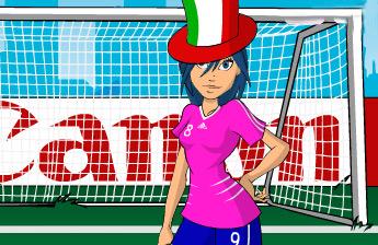 世界杯足球宝贝