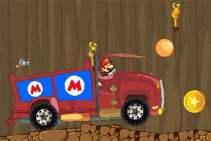 马里奥火山卡车