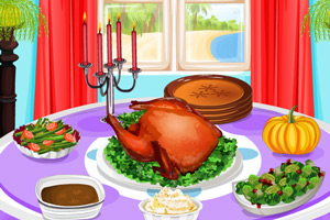 感恩节美味晚餐