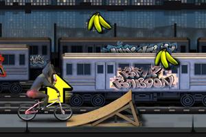 猩猩特技自行车